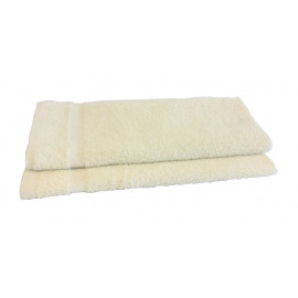 Adonis economical Terry Hand Towels w/ Cam Border 28x16 3.50 lbs/dz.Ivory 12/Pack