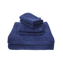 Adonis Full Terry Ring Spun Cotton Face Towels 13x13 wt. 1.60 lbs/dz. Navy 12/Pack
