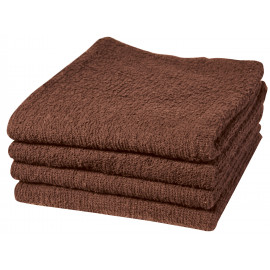 Adonis Full Terry Ring Spun Cotton Bath Sheets 54x27 wt. 14.0 lbs/dz. Brown 6/Pack