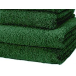 Adonis Standard Full Terry Ring Spun 100% Cotton Hospitality Towels Green Color