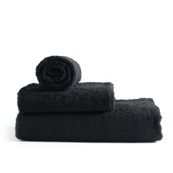 Adonis Standard Full Terry Ring Spun 100% Cotton Hospitality Towels Black Color
