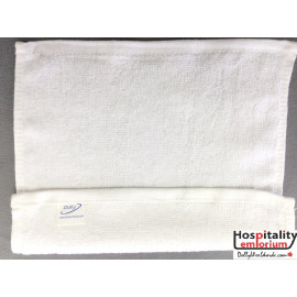 Dolly Terry Velour Cotton Face Towels 10x10 wt. 0.80 lbs/dz. White 12/Pack
