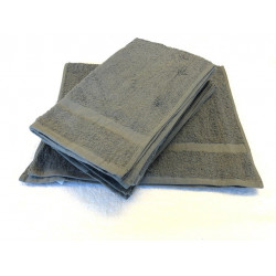 Beauty Salon Towels  Economical Solid Colored Hand Towels 27x16 wt. 3.0 lbs/dz. Grey 12/Pack