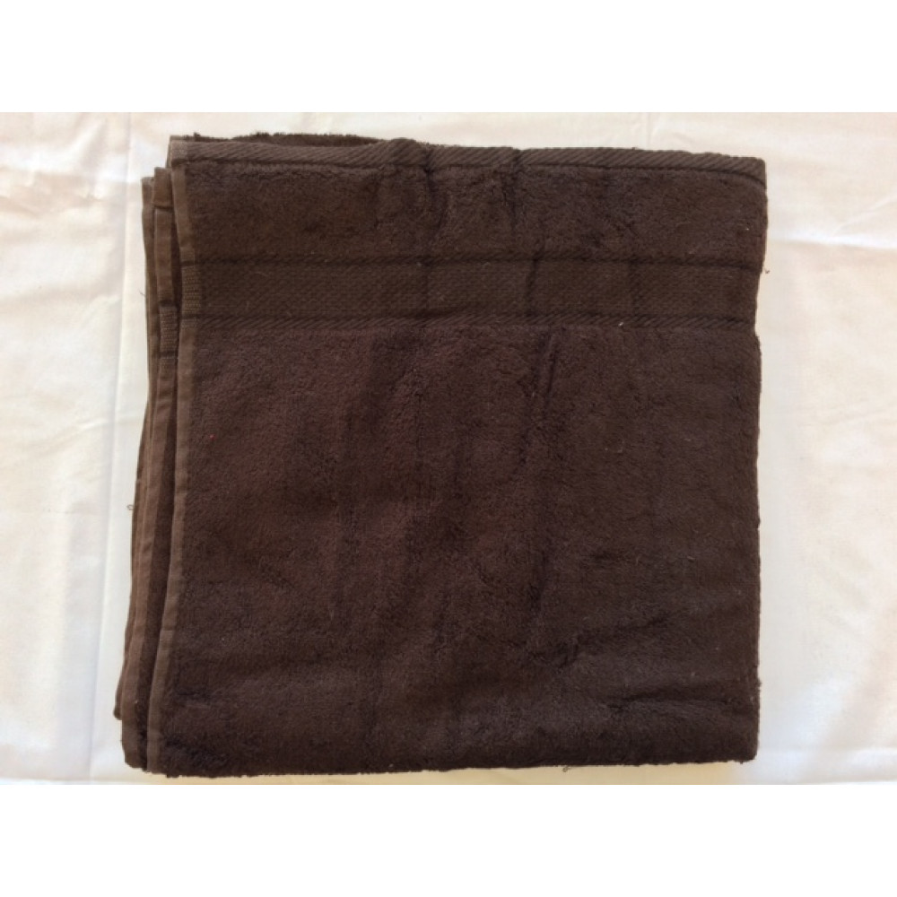 Dolly Extra Soft Bamboo Hand Towels 30x16 wt. 5.00 lbs/dz. Chocolate Brown 12/Pack