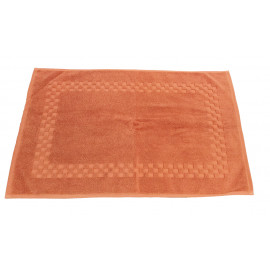 Jacquard Premium 100% Combed Cotton Face Towels 13x13 wt. 2.00 lbs/dz. Coral 12/Pack