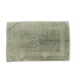 Jacquard Premium 100% Combed Cotton Face Towels 13x13 wt. 2.00 lbs/dz. Dove Grey 12/Pack