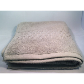 Jacquard Premium 100% Combed Cotton Hand Towels 32x16 wt. 6.00 lbs/dz. Dove Grey 12/Pack
