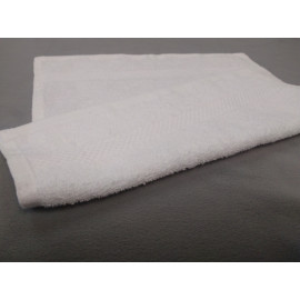 Breeze Premium Cotton w/ Dobby Border Face Towels 13x13 wt. 1.50 lbs/dz. White 12/Pack