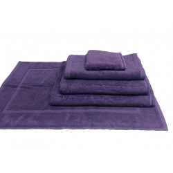 Zen 100% Certified Organic Cotton 5 star hospitality towels Egg Plant color
