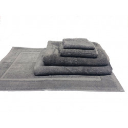 Zen 100% Certified Organic Cotton 5 star hospitality towels Granite color