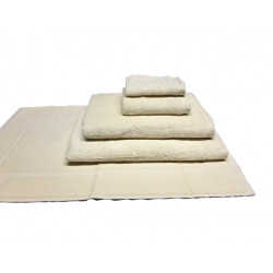 Zen 100% Certified Organic Cotton 5 star hospitality towels Natural color