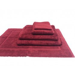 Zen 100% Certified Organic Cotton 5 star hospitality towels Lava color
