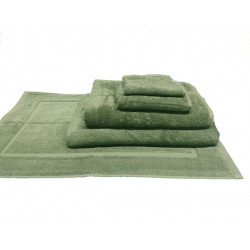 Zen 100% Certified Organic Cotton 5 star hospitality towels Moss color