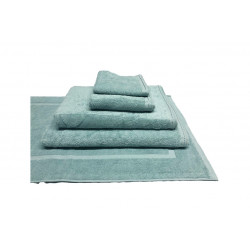 Zen 100% Certified Organic Cotton 5 star hospitality towels Sky Blue color