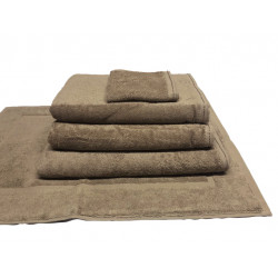 Zen 100% Certified Organic Cotton 5 star hospitality towels Sand color