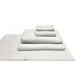 Zen 100% Certified Organic Cotton 5 star hospitality towels white color
