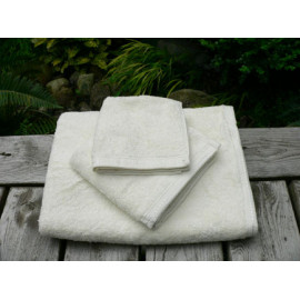 Zen Organic cotton 100% certified Luxury Super soft Hospitality Towels Set Natural color