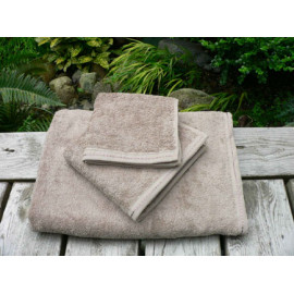 Zen Organic cotton 100% certified Luxury Super soft Hospitality Towels Set Sand color