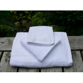 Zen Organic cotton 100% certified Luxury Super soft Hospitality Towels Set White color
