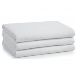 Adonis Full Terry Ring Spun Cotton Hand Towels 28x16 wt. 3.60 lbs/dz. White 12/Pack