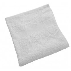 Gold+Cross Economical Terry Cotton Hand Towels 25x15 wt. 2.20 lbs/dz. White 12/Pack