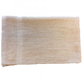 Solid Colored Full Terry Face Towels 12x12 wt. 1.20 lbs/dz. Ivory 12/Pack