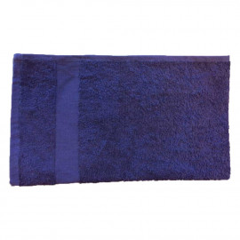 Solid Colored Full Terry Face Towels 12x12 wt. 1.20 lbs/dz. Navy 12/Pack