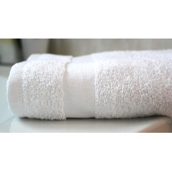 Premium Full Terry, 100% Cotton, Ringspun, Dobby Borders, Hospitality Towels
