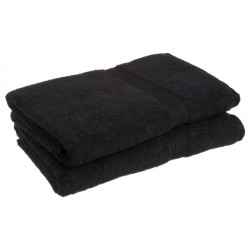 "Cambridge Luxury Hand Towels  ""Made In Canada"" 28x16 wt. 4.00 lbs/dz. Black 6/Pack"
