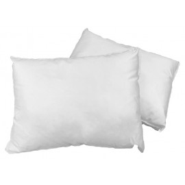 "Dolly Travel/Small 12""x 16"" 4 Star Fiber TC-200 100% Cotton Pillows Made in Canada 2/Pack"