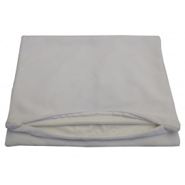 Dolly Fleece Lining Bed bug & Waterproof Hypoallergenic Pillow Protector Zippered King 20x36 White 2/Pack