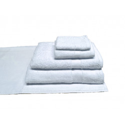 Breeze™ Premium 100% Cotton w/ Dobby Border Hospitality Towels White Color