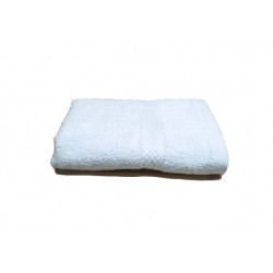 Breeze Premium Cotton w/ Dobby Border Hand Towels 30x16 wt. 4.50 lbs/dz. White 12/Pack