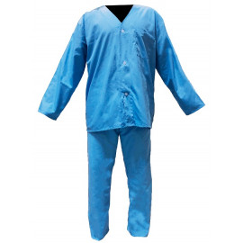 Hospitality Emporium Poly Cotton Pajama Set (Top & Bottom)