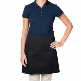 Gold+Cross 4-way Waist Apron 100% Polyester Black 12/Pack