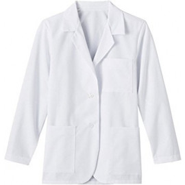 Lab Coat Professional Unisex with Pocket White Color 2/Pack